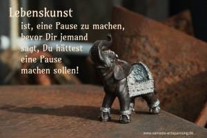 Lebenskunst - Elefant